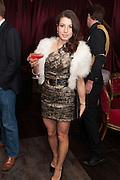 LAUREN KEMP, Pete & Caroline Tong and Yasmin Mills Christmas Party. Baroque, The Playboy Club, Old Park Lane, London. 15 December 2012.