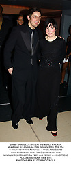 Singer SHARLEEN SPITERI and ASHLEY HEATH, at a dinner in London on 25th January 2004.PRA 354