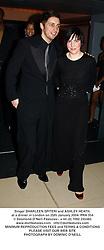 Singer SHARLEEN SPITERI and ASHLEY HEATH, at a dinner in London on 25th January 2004.PRA 354