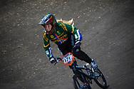 #171 (O'KEEFFE Teagan) RSA at the 2013 UCI BMX Supercross World Cup in Chula Vista