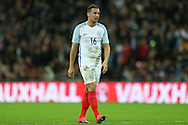 Phil Jagielka of England looking on. England v Spain, Football international friendly at Wembley Stadium in London on Tuesday 15th November 2016.<br /> pic by John Patrick Fletcher, Andrew Orchard sports photography.