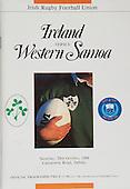Rugby 1988 - 29/10 Friendly Ireland vs Western Samoa