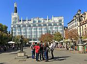 'Me by Melia' Reina Victoria hotel, Plaza de Santa Anna, Barrio de las Letras, Madrid city centre, Spain