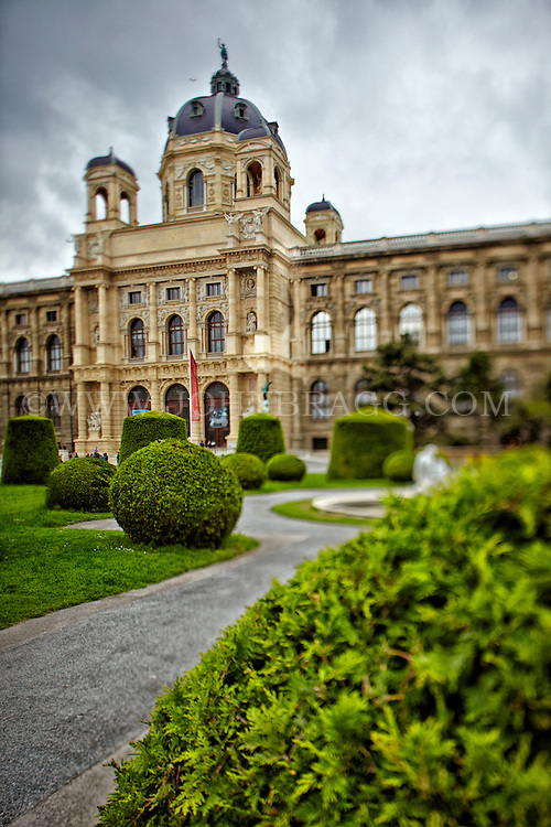 Front view of the Museum of Art History, Vienna, Austria.