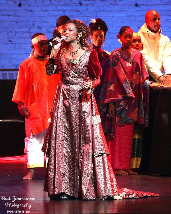 NEW YORK, NY - DECEMBER 30:  Musician N'Kenge performs at the the 5th Annual Regeneration Night Kwanzaa Celebration at The Apollo Theater on December 30, 2011 in New York City.  (Photo by Paul Zimmerman/WireImage)