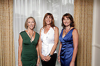 8 September 2010: Impact Giving grant season kickoff luncheon at the Pacific Club in Newport Beach, CA. We are a women's collective giving organization that educates women who come together to effect positive social change in our communities, in our nation and around the world. Karen Wilson, Susan Samueli, Ann Duncan.