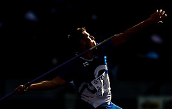Antti Ruuskanen of Finland competes in the men's Javelin Throw Final during day nine of the 12th IAAF World Athletics Championships at the Olympic Stadium on August 23, 2009 in Berlin, Germany. (Photo by Vid Ponikvar / Sportida)