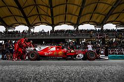 October 1, 2017 - Sepang, Malaysia - Motorsports: FIA Formula One World Championship 2017, Grand Prix of Malaysia, ..#7 Kimi Raikkonen (FIN, Scuderia Ferrari) (Credit Image: © Hoch Zwei via ZUMA Wire)