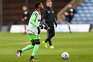 Forest Green Rovers Reece Brown(10) warming up during the The FA Cup 1st round match between Oxford United and Forest Green Rovers at the Kassam Stadium, Oxford, England on 10 November 2018.