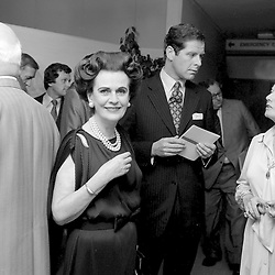 15 September 1980 - Margaret, Duchess of Argyll at an exhibition in London.<br /> <br /> Photo by Desmond O'Neill Features Ltd.  +44(0)1306 731608  www.donfeatures.com