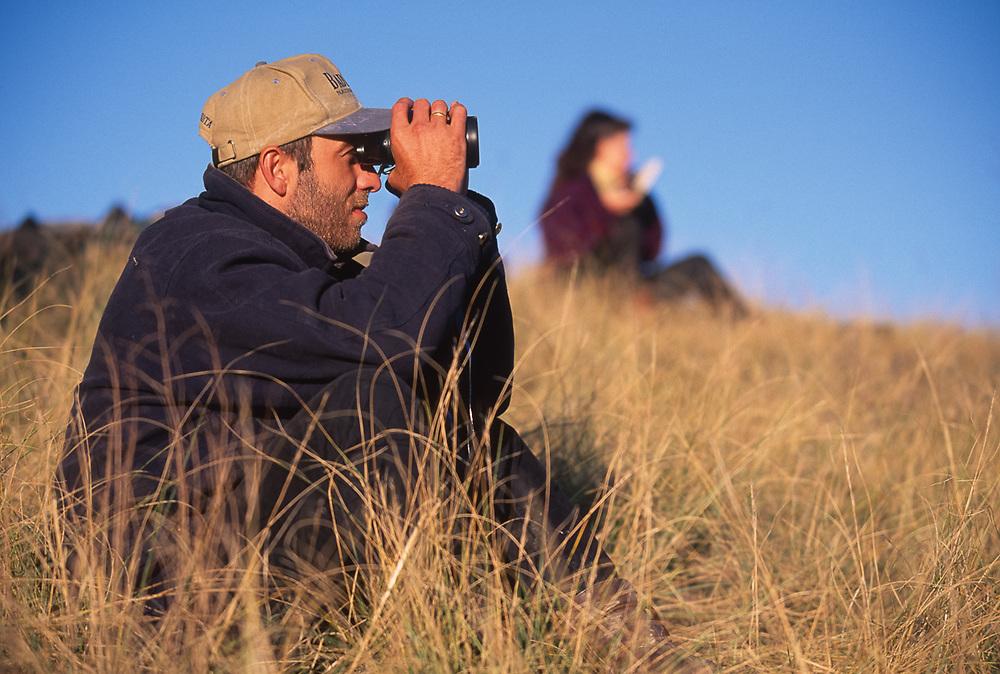 Amiran Kodiashivili, park biologist, Vashlovani National Park, The Country of Georgia