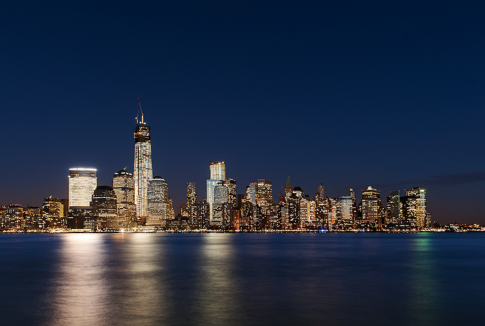 World Trade Center & Lower Manhattan<br /> From Jersey City