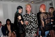 SOPHIA LAMAR; MARK HSU, Visionaire party. Delano  Hotel.  Miami Art Basel 2011. 2December 2011.