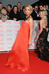 Sarah Harding attending the National Television Awards 2018 held at the O2, London. Photo credit should read: Doug Peters/EMPICS Entertainment