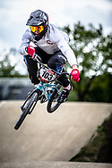 #103 (MOLINA VERGARA Mauricio Ignacio) CHI during practice at Round 3 of the 2019 UCI BMX Supercross World Cup in Papendal, The Netherlands