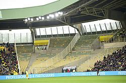 April 1, 2018 - Nantes, France, France - absence des supporters de St Etienne (Credit Image: © Panoramic via ZUMA Press)