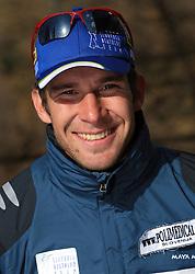 Vasja Rupnik of Slovenian Men Biathlon Team at Dachstein glacier before new season 2008/2009, Austria, on October 30, 2008.  (Photo by Vid Ponikvar / Sportida)