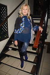 LIZ BREWER at a party to celebrate the publication of Pauline Hyde's book 'Midas Man' held at San Lorenzo, Beauchamp Place, London on 29th May 2008.<br />