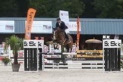 Bourguignon Vincent, BEL, Azorro vd Pluishoek Z<br /> 4 years old Horses<br /> BK Young Horses Gesves 2021<br /> © Hippo Foto - Julien Counet