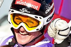 08-02-2011 SKIEN: FIS ALPINE WORLD CHAMPIONSSHIP: GARMISCH PARTENKIRCHEN<br /> Winner and World Champion, Elisabeth GOERGL (AUT) during Women Super G, Fis Alpine Ski World Championships in Garmisch Partenkirchen  <br /> **NETHERLANDS ONLY**<br /> ©2011-WWW.FOTOHOOGENDOORN.NL/NPH- J. Feichter