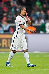 16.04.2016, BayArena, Leverkusen, GER, 1. FBL, Bayer 04 Leverkusen vs Eintracht Frankfurt, 30. Runde, im Bild Timothy Chandler (Eintracht Frankfurt #22) // during the German Bundesliga 30th round match between Bayer 04 Leverkusen and Eintracht Frankfurt at the BayArena in Leverkusen, Germany on 2016/04/16. EXPA Pictures © 2016, PhotoCredit: EXPA/ Eibner-Pressefoto/ Schüler<br /> <br /> *****ATTENTION - OUT of GER*****
