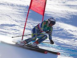 10.02.2011, Kandahar, Garmisch Partenkirchen, GER, FIS Alpin Ski WM 2011, GAP, Damen Abfahrtstraining, im Bild Marusa Ferk (SLO) whilst competing in the women's downhill training run on the Kandahar race piste at the 2011 Alpine skiing World Championships, EXPA Pictures © 2011, PhotoCredit: EXPA/ M. Gunn