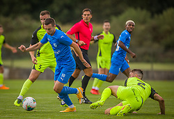 10# Osterk Stjepan of NK Nafta 1903 during the match of 1st. round of Cup Slovenia 2020/21 between NK Sencur an NK Nafta 1903, on 02.09.2020 in Sencur, Slovenia. Photo by Urban Meglič / Sportida