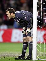 Fotball<br /> Play off VM 2006<br /> 12.11.2005<br /> Norge v Tsjekkia / Norway v Czech Republic 0-1<br /> Foto: Morten Olsen, Digitalsport<br /> <br /> Peter Cech - Chelsea