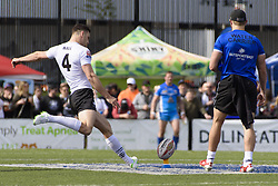 May 20, 2017 - Toronto, Ontario, Canada - CRAIG HALL (4) in action during the Rugby League game between  game between Toronto Wolfpack and Barrow Raiders (Credit Image: © Angel Marchini via ZUMA Wire)