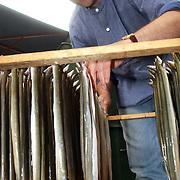 NLD/Huizen/20050702 - Theehuis Bos en Hei Huizen, Goois Kampioenschap Palingroken