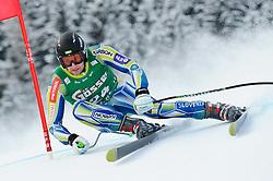 21.01.2011, Hahnenkamm, Kitzbuehel, AUT, FIS World Cup Ski Alpin, Men, Super G, im Bild // Ales Gorza (SLO) // during the men super g race at the FIS Alpine skiing World cup in Kitzbuehel, EXPA Pictures © 2011, PhotoCredit: EXPA/ S. Zangrando