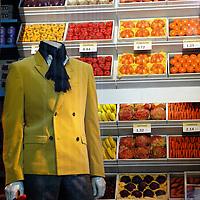 Yellow fruit suit