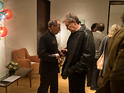 EARL OF SNOWDON; ROBIN CANNON, Launch of 'Taste: The Secret Meaning of Things' by Stephen Bayley, Christies. King St. 16 October 2017