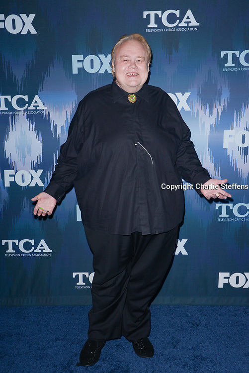 LOUIE ANDERSON at the Fox Winter TCA 2017 All-Star Party at the Langham Hotel in Pasadena, California