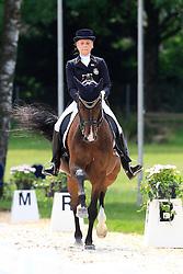 Nilsson Sanna (SWE) - Go Dutch III<br /> FEI European Dressage Championship Young Riders - Bern 2012<br /> © Hippo Foto - Leanjo de Koster