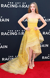 "Amanda Seyfried at the premiere of ""The Art Of Racing In The Rain"" held at the El Capitan Theatre in Los Angeles, CA."