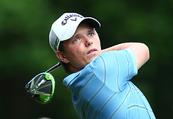 May 25, 2017 - Virginia Water, United Kingdom - Callum Shinkwin of England during 1st Round for the 2017 BMW PGA Championship on the west Course at Wentworth on May 25, 2017 in Virginia Water,England  (Credit Image: © Kieran Galvin/NurPhoto via ZUMA Press)