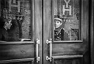 Doorman at the Black Tulip Hotel. Yerevan,2003