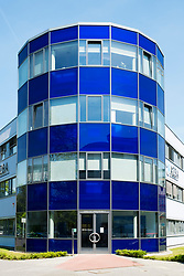 Azba building at Adlershof Science and Technology Park  Park in Berlin, Germany