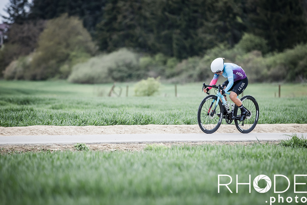 Emilie Moberg (SWE/Drops-Le Col)<br /> <br /> Ceratizit Festival Elsy Jacobs (LUX) 2021<br /> UCI Women Elite 2.1<br /> Day 1 - prologue : Individual Time Trial (ITT) – Cessange (LUX) 2.2km <br /> <br /> ©RhodePhoto