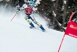Meta Hrovat (SLO) during the Ladies' Giant Slalom at 57th Golden Fox event at Audi FIS Ski World Cup 2020/21, on January 16, 2021 in Podkoren, Kranjska Gora, Slovenia. Photo by Vid Ponikvar