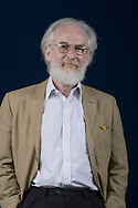 British linguist, academic and author David Crystal, pictured at the Edinburgh International Book Festival where he talked about his new book entitled 'Begat.' The three-week event is the world's biggest literary festival and is held during the annual Edinburgh Festival. The 2010 event featured talks and presentations by more than 500 authors from around the world.