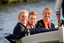 Den Dulk Nicole, Van der Horst Rixt, Heuitink Joyce, <br /> EC Rotterdam 2019<br /> © Hippo Foto - Sharon Vandeput<br /> 19/08/19