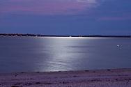 Full Moon, Cedar Beach, Southold, New York
