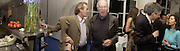 Martin Amis and Clive James. Party for Anthony Lane's book, ' Nobody's Perfect'  hosted by New Yorker editor David Remnick at the River Cafe. 12 November 2002. © Copyright Photograph by Dafydd Jones 66 Stockwell Park Rd. London SW9 0DA Tel 020 7733 0108 www.dafjones.com