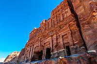 Palace Tomb (the Royal Tombs), Petra Archaeological Park (a UNESCO World Heritage Site), Petra, Jordan.