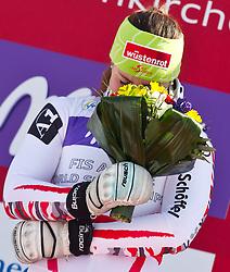 08.02.2011, Kandahar, Garmisch Partenkirchen, GER, FIS Alpin Ski WM 2011, GAP, Lady Super G, im Bild Siegerin und Weltmeisterin, Elisabeth GOERGL (AUT) mit Freudentränen in den augen // Winner and World Champion Elisabeth GOERGL (AUT) with tears in the eyes during Women Super G, Fis Alpine Ski World Championships in Garmisch Partenkirchen, Germany on 8/2/2011, 2011, EXPA Pictures © 2011, PhotoCredit: EXPA/ J. Feichter