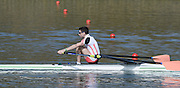Caversham  Great Britain.<br /> GBR LM1X. Jamie KIRKWOOD.<br /> 2016 GBR Rowing Team Olympic Trials GBR Rowing Training Centre, Nr Reading  England.<br /> <br /> Tuesday  22/03/2016 <br /> <br /> [Mandatory Credit; Peter Spurrier/Intersport-images]