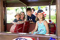 Gilmanton 4th of July parade.  Karen Bobotas for the Laconia Daily Sun