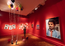 © Licensed to London News Pictures. 27/06/2018. London, UK. Selection of artwork  shown as part of the Michael Jackson: On the Wall exhibition at the National Portrait Gallery. Photo credit: Ray Tang/LNP